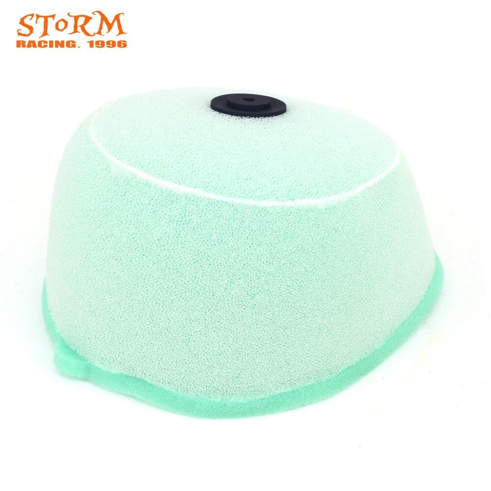 Dual Foam Sponge Air Cleaner Filter For KAWASAKI KX125 2002 2003 2004 2005 2006 KX250 02-07 KX 250 04-05  MX SM Motorcycle
