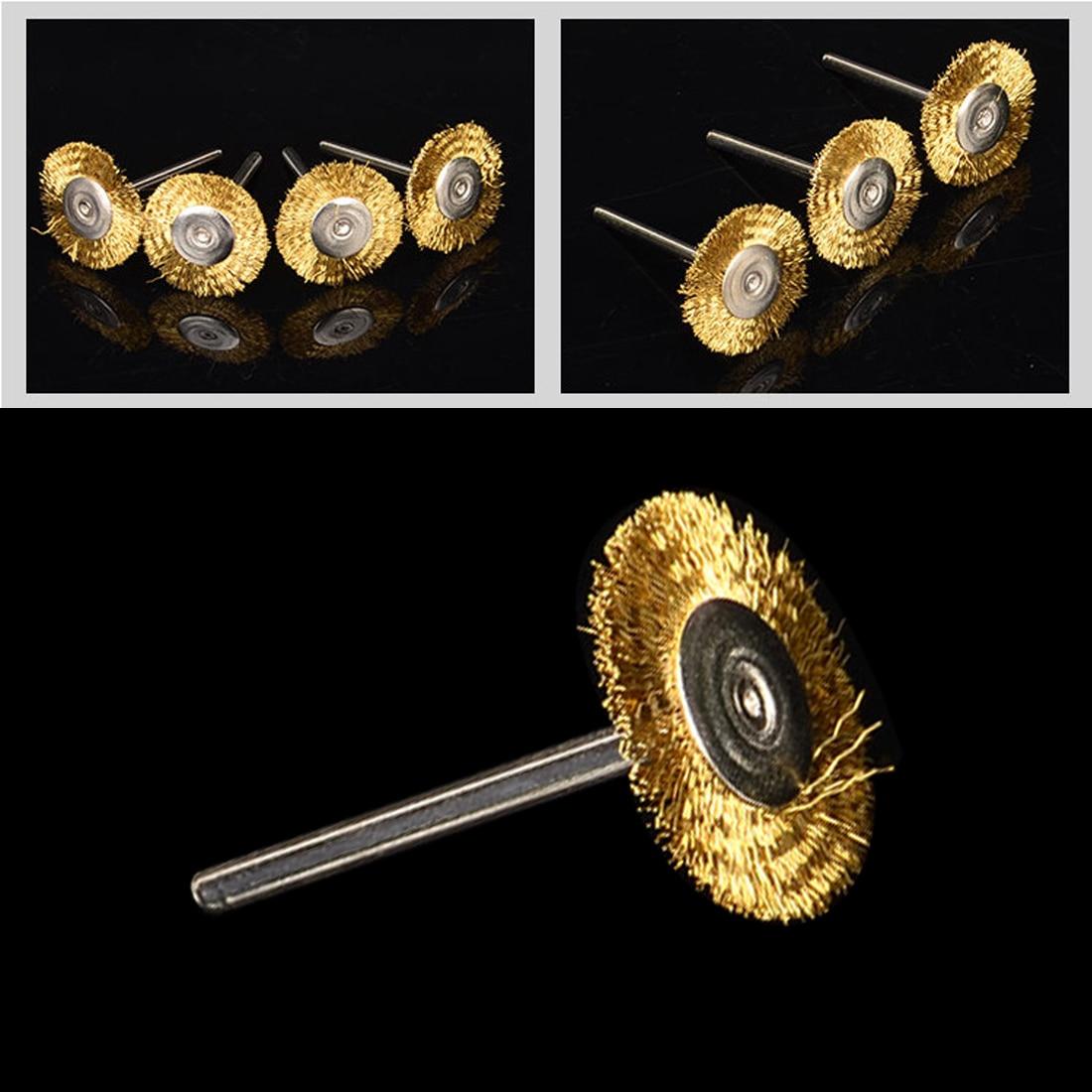 Accessori Dremel 16 pezzi set di spazzole per ruote in filo di - Utensili abrasivi - Fotografia 5