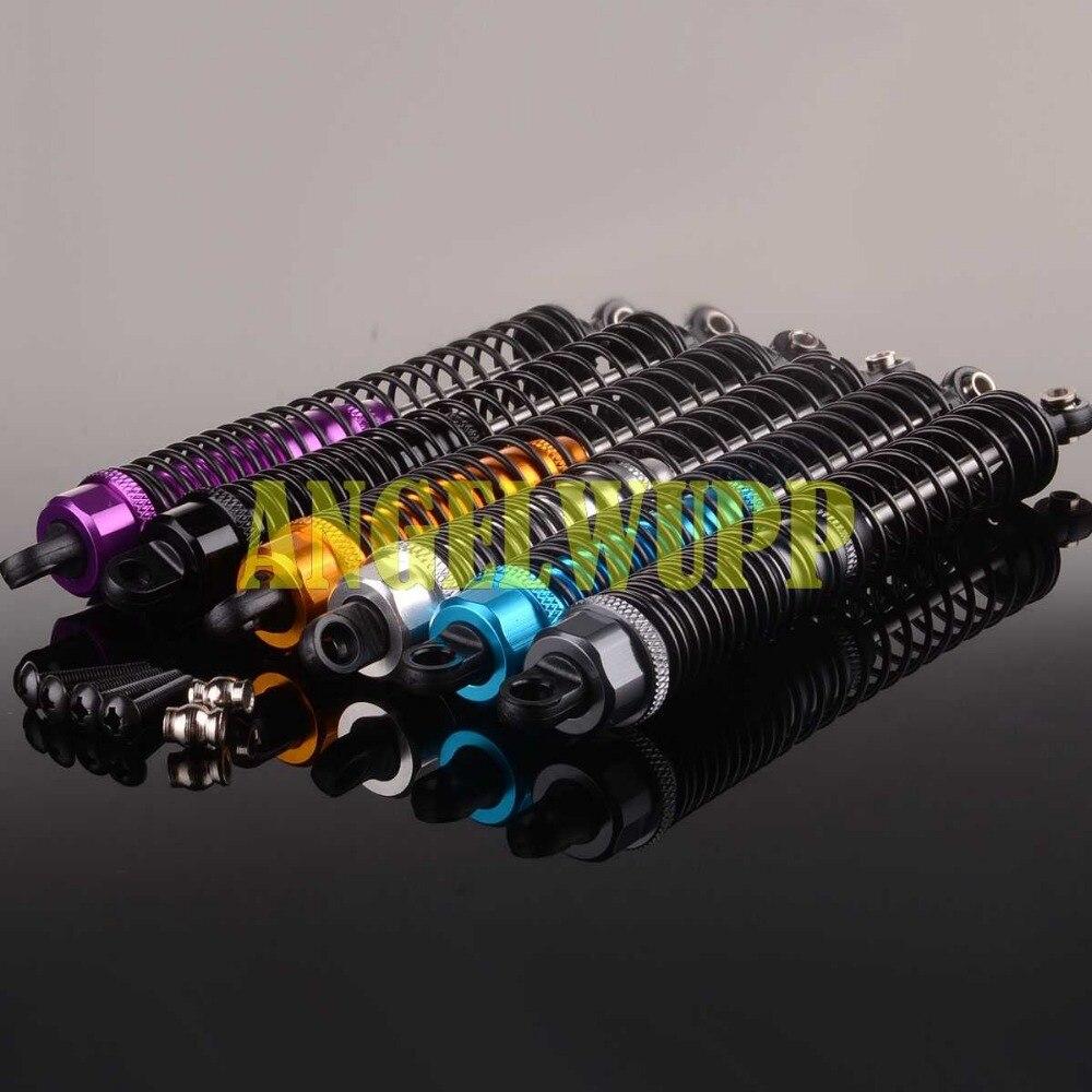 Amortiguador de aceite trasero de aluminio 2P 130mm para coche modelo RC 110 WLToys K949 K949-011