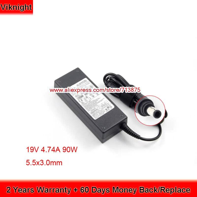 Genuine 19V 4.74A GT7450 VM6000 GT8600 NP700Z5C AC Adapter for SAMSUNG R700 NP350V5C-A08UK T8900 VM7700 P27 P30 XVC 1400