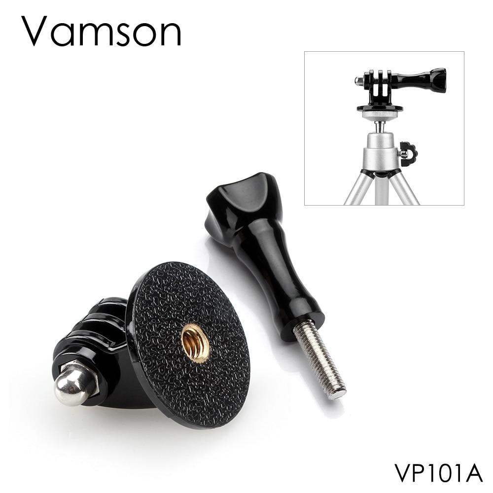 Vamson для GoPro аксессуары адаптер конвертер крепление монопод штатив держатель Чехол адаптер для Go Pro Hero 7 6 5 4 Xiaomi yi VP101