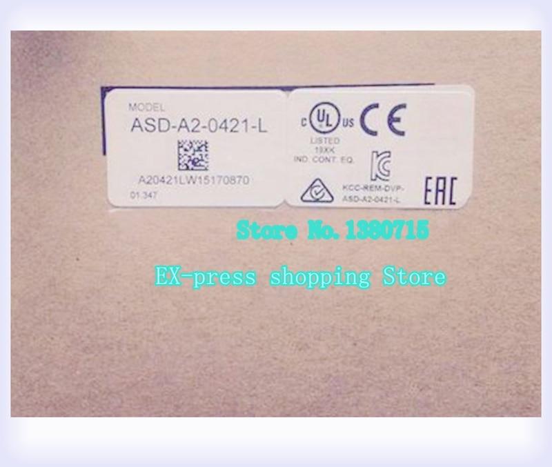 ECMA-C10604SH ASD-A2-0421-L AC أجهزة السيارات و محرك أطقم 400W 3000r/دقيقة جديد ECMA-C10604SH + ASD-A2-0421-L