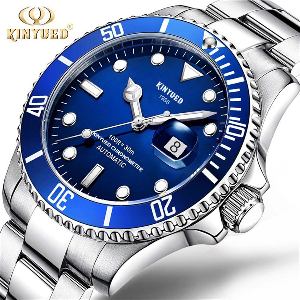 Hombre relojes de marca reloj de hombre de lujo de acero resistente al agua reloj hombre reloj gmt reloj de pulsera reloj Montre Homme