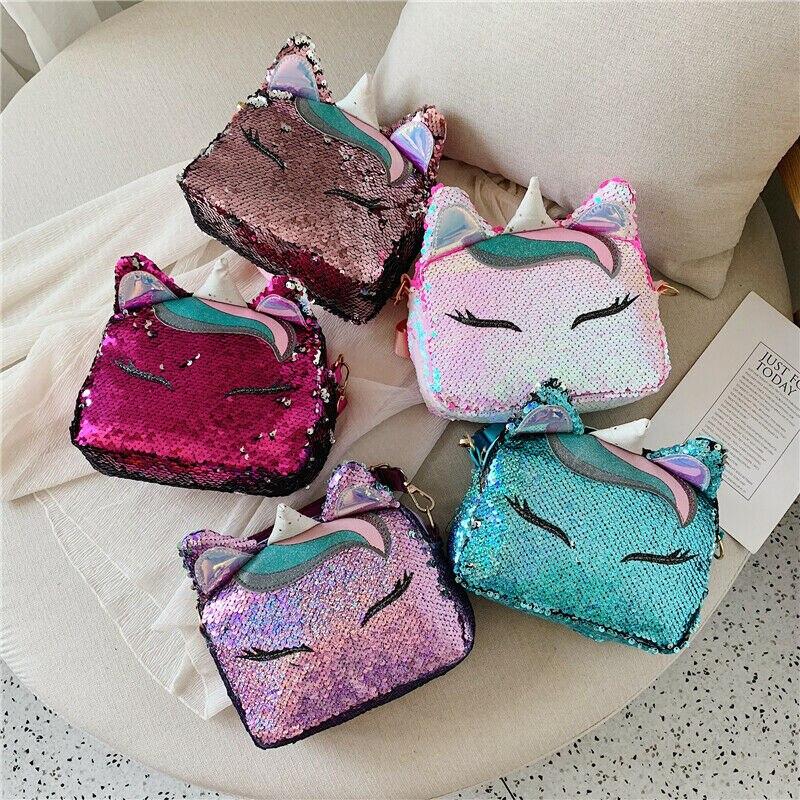 Fashion new women's shoulder bag cute creative funny messenger bag sequin handbag NEW