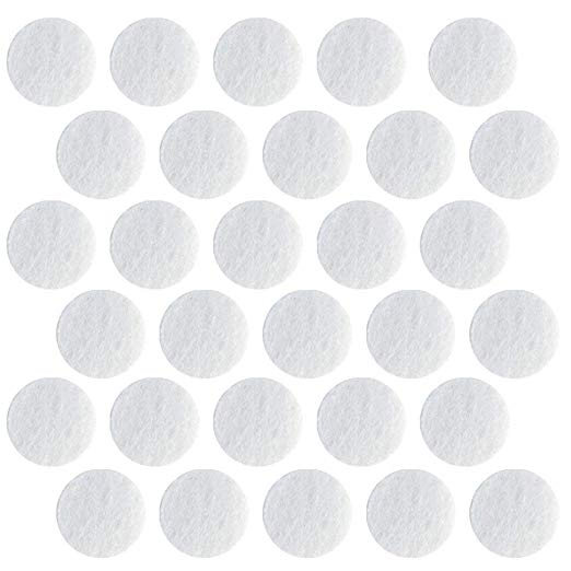 150PCS Microdermabrasion Cotton Filters Replacement 10mm For Face Care & Blackhead Removal Facial Va