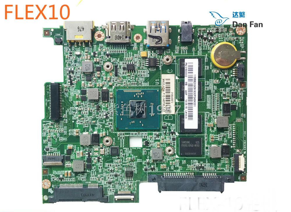 اللوحة الأم للكمبيوتر المحمول Lenovo Flex 10 ، تم اختبار 100% درجة ، تعمل بالكامل ، BM5338