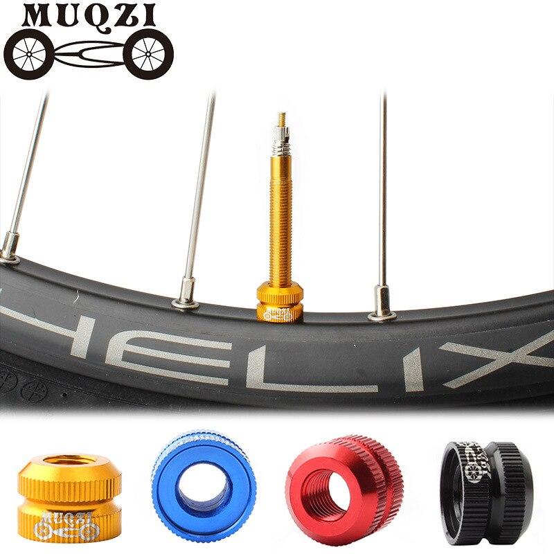 MUQZI Dead fly bicicleta Ley boca tuerca vacío gas para neumáticos boquilla tuerca tubo interno válvula bicicleta de montaña bicicleta de carretera