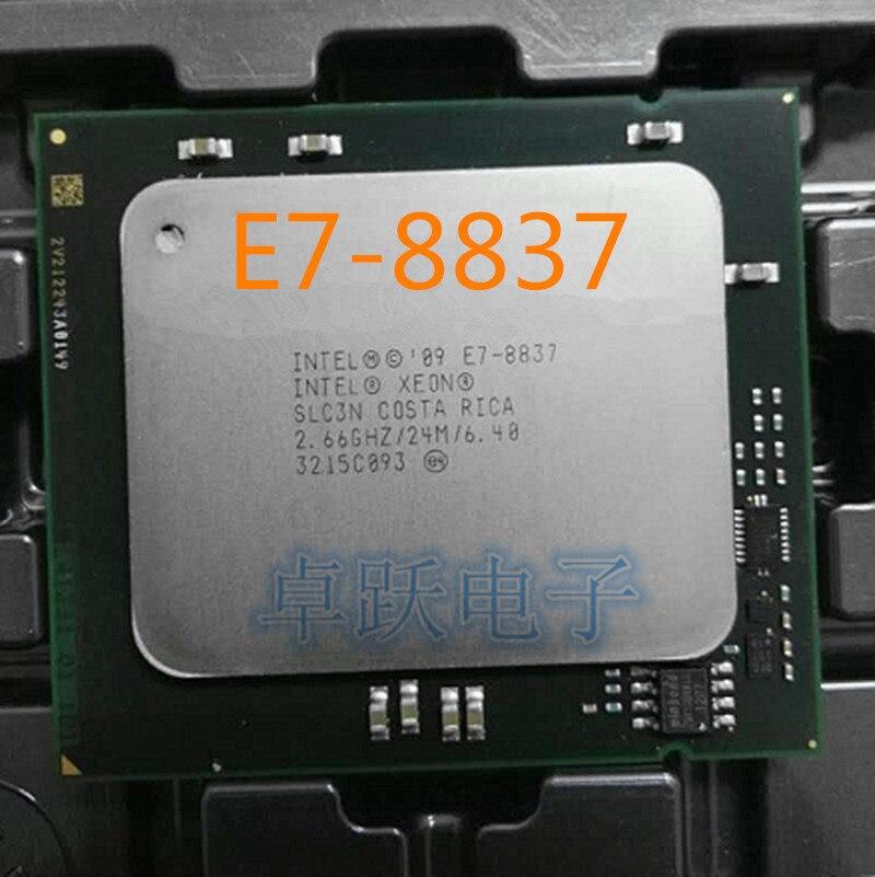 Intel Xeon E7 procesador 8837 E7-8837 2,66 GHz cpu 24MB 6 4GT/s QPI SLC3N LGA1567 envío gratuito