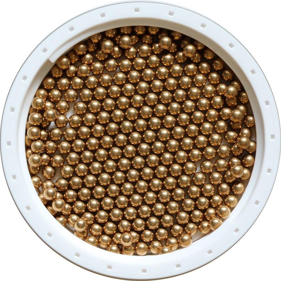 3.5 مللي متر 500 قطعة الصلبة النحاس (H62) تحمل الكرة شحن مجاني