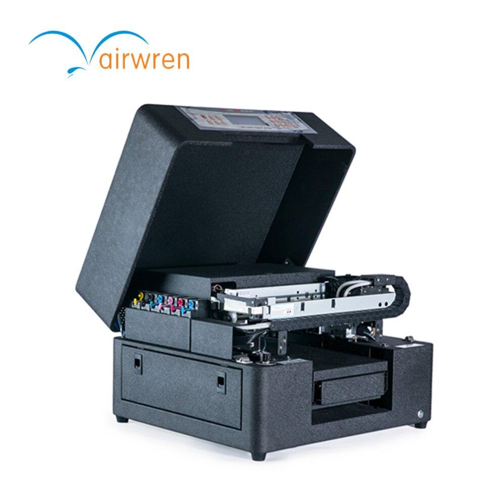 Mini A4 Multicolor Uv caja del teléfono de plástico tarjetas de impresora de etiquetas