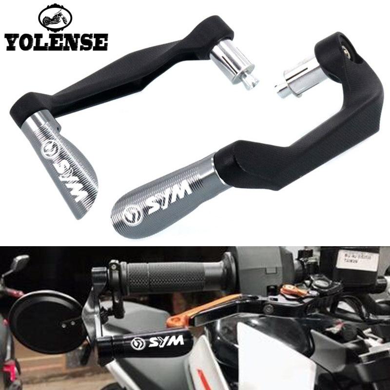 "Para SYM CRUISYM 300 180 150 motocicleta 7/8 ""22mm empuñaduras de manillar Protector de freno Protector de palancas de embrague Protector"