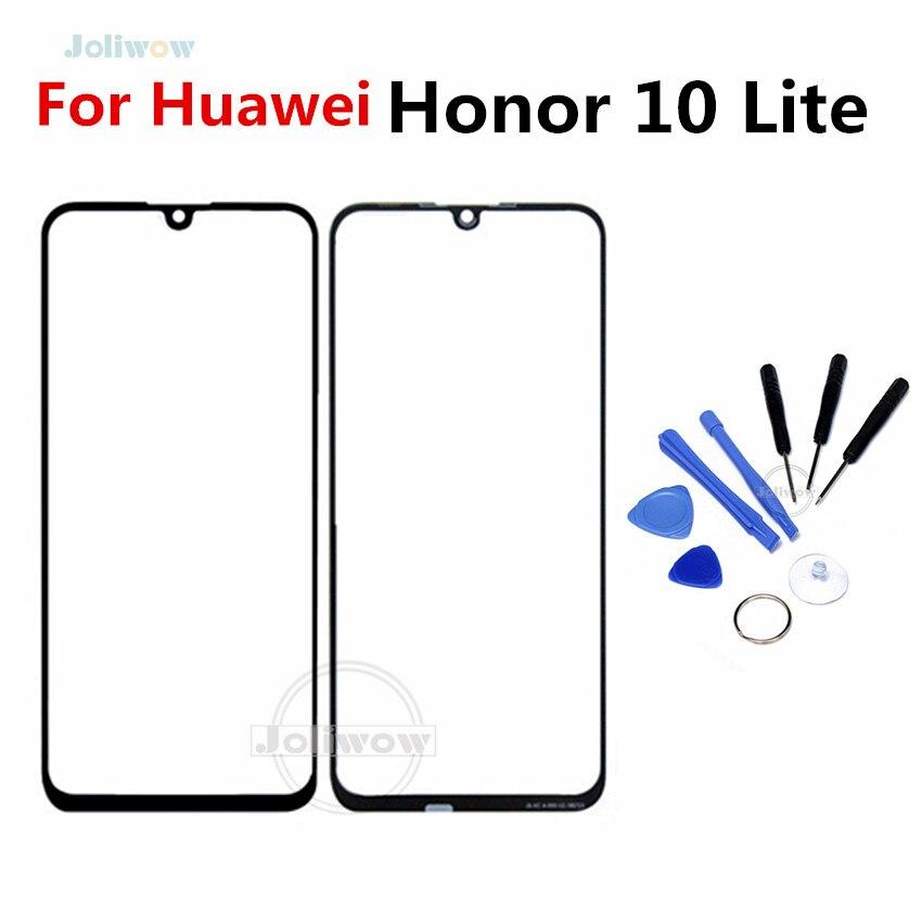 Para Huawei Honor 10 Lite, Panel táctil frontal, Pantalla de Panel táctil de cristal exterior para Honor 10 Lite, Panel táctil de reemplazo de cristal