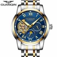 guanqin brand automatic watch men luxury tourbillon business watch men sport waterproof mechanical wristwatch relogio masculino