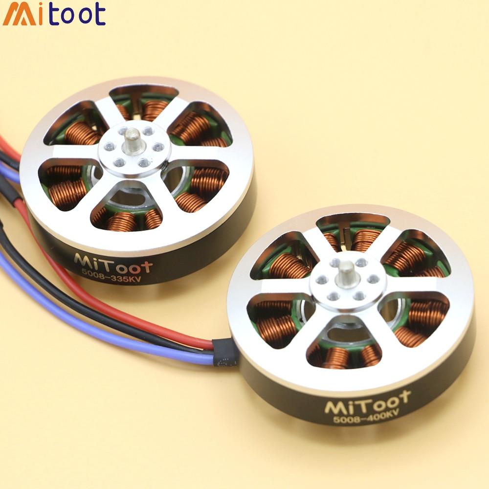 4 set/lot Mitoot R2306 2306 2400KV Motor sin escobillas CW CCW 4-5 S para FPV RC Drone Quadcopter multirotor