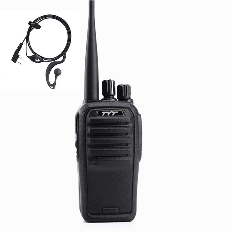 100% Original largo 8W TYT TC-5000 de alta potencia de dos vías Walkie Talkie radio CB FRS transceptor Woki Toki
