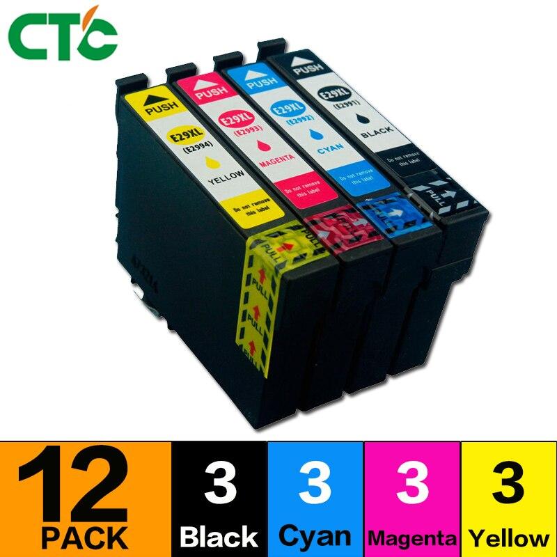 12 compatível para Cartuchos de Tinta para Expression Início XP-235 T299XL XP-245 XP-352 XP-332 XP-335 XP-342 XP-345 XP-432