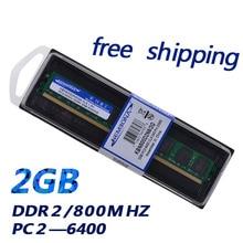 KEMBONA pour toutes les cartes mères ordinateur de bureau memoria ram DDR2 2 GB 800 Mhz tout nouveau ordinateur de bureau DIMM ram DDRII 800 2G