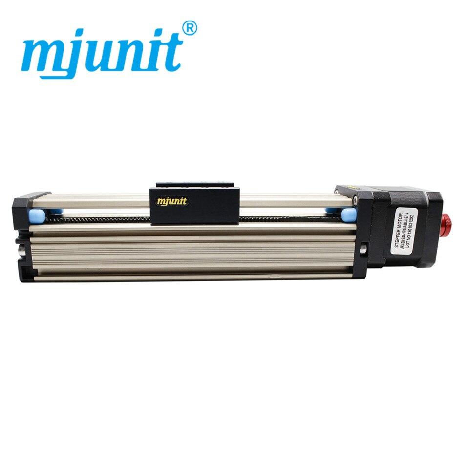 Mjunit-محرك متدرج MJ42 ، وحدة طاولة منزلقة ، سكة انزلاقية كهربائية ، برغي دقيق ، شوط 50 مللي متر