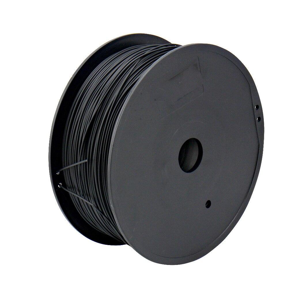Nova ABS Caneta Impressora 3D Filament 1.75mm Caneta 200 Metros 3D Filament 0.5 KG/Rolo de Plástico Borracha Consumíveis Material