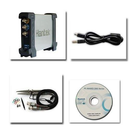 6082BE osciloscopio Digital PC USB basado 80MHz 250 MS/s Original 6082BE USBXITM interfaz superficie de aleación de aluminio