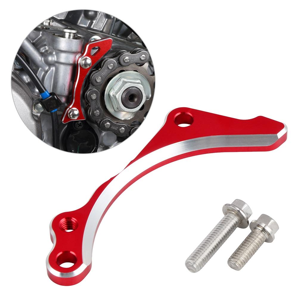 Protector de piñones de cadena protector de placa de motor NICECNC para Honda CRF250R CRF 250R 250 R 2018-2019 accesorios de motocicleta