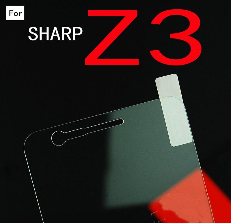 0,3 мм 9H закаленное стекло для Sharp Z3 защита экрана Защитная пленка Передняя крышка для Sharp Z3 + чистые комплекты