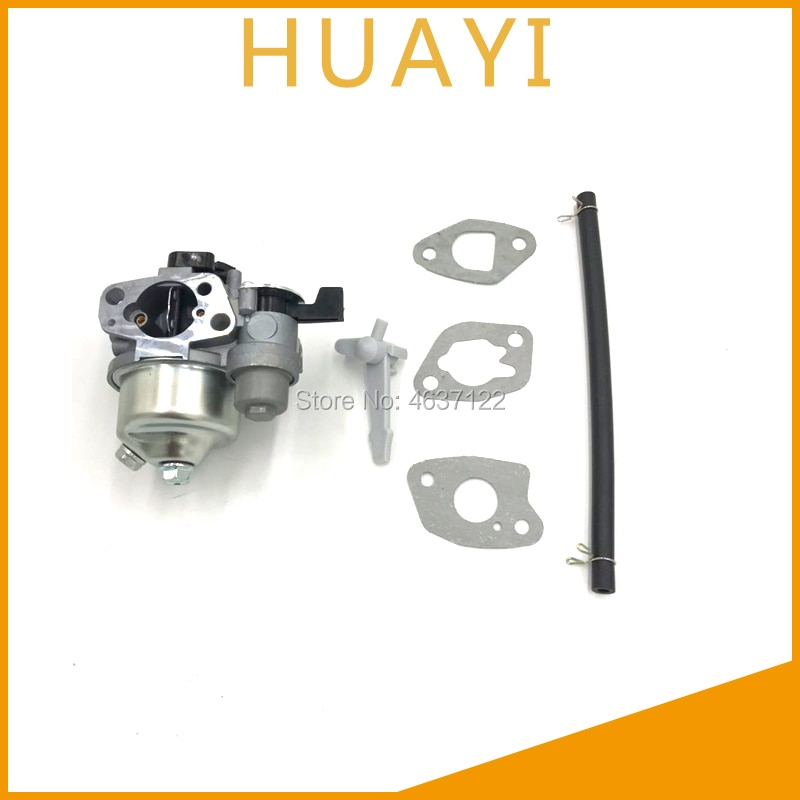 Carburador HUAYI para bomba de agua con tapa P19 GX160 GX200 5.5HP 6.5HP 168F motor