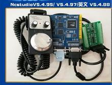 Carte de PCIMC-3G de carte de Weihong de machine de gravure 3 fois sur la carte de contrôle de mouvement servo de roue 3D