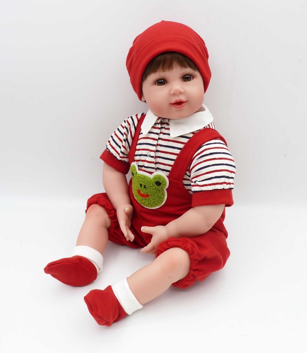 Otarddolls, muñecas de vinilo de 50 cm para bebés Reborn, muñecas de silicona para bebés, muñecas reborn realistas bonitas de 20 pulgadas para niños, regalos