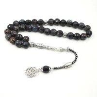 ceramic tasbih 33 beads 2019 new style tesbih metal tassels special bracelets muslim gift rosary