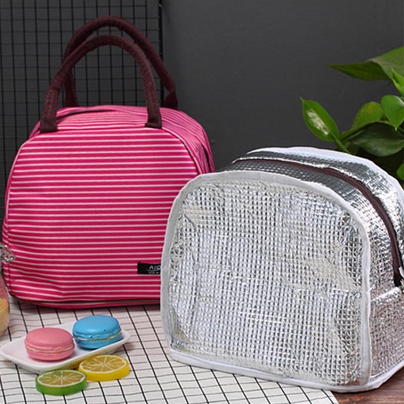 Портативная сумка для ланча водонепроницаемый Термоизолированный Ланч бокс