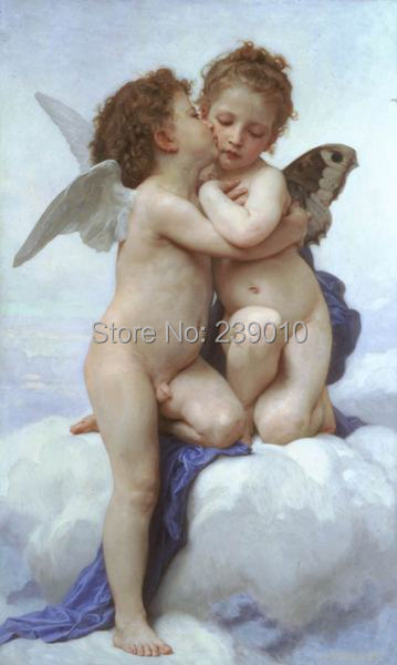Frete grátis anjo anjos Religião Pintura A Óleo cópias da lona arte da parede Da Lona impressa pintura da decoração para o quarto