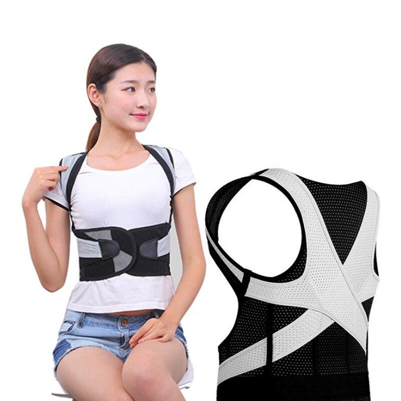 Unissex volta postura corrector cinta volta ombro suporte cinto de correção postura cinto para homens cinto feminino