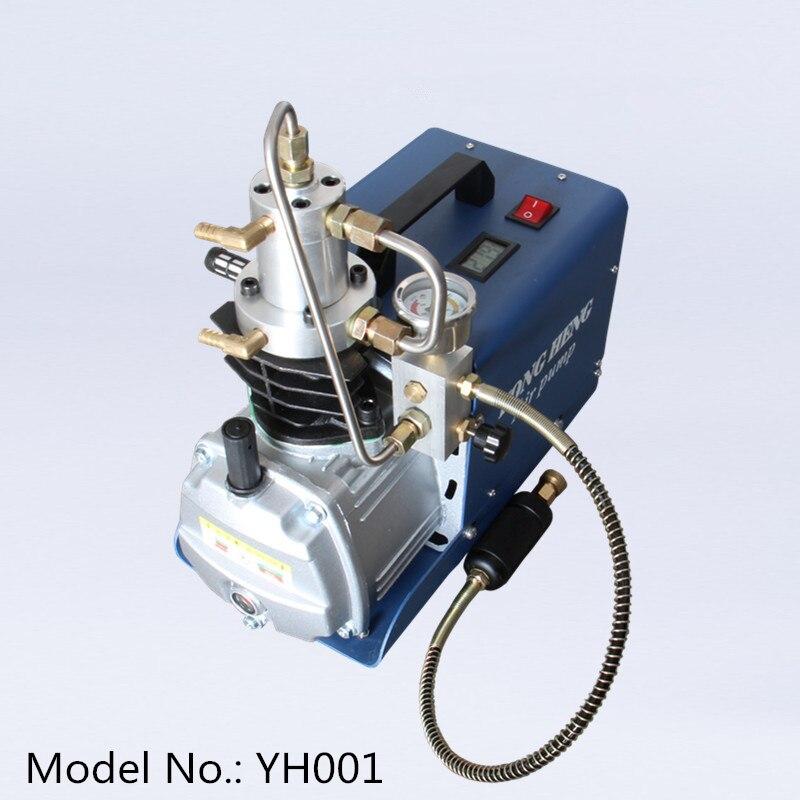 4500PSI 30mpa 300bar pcp bomba de aire compresor de alta presión bomba de aire eléctrica para tanque de cilindro de gas de llenado 110V 220V