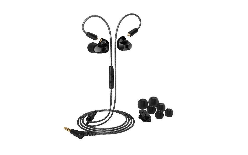 Moxpad X9 наушники для спорта с микрофоном бас Hifi гарнитура MMCX кабель