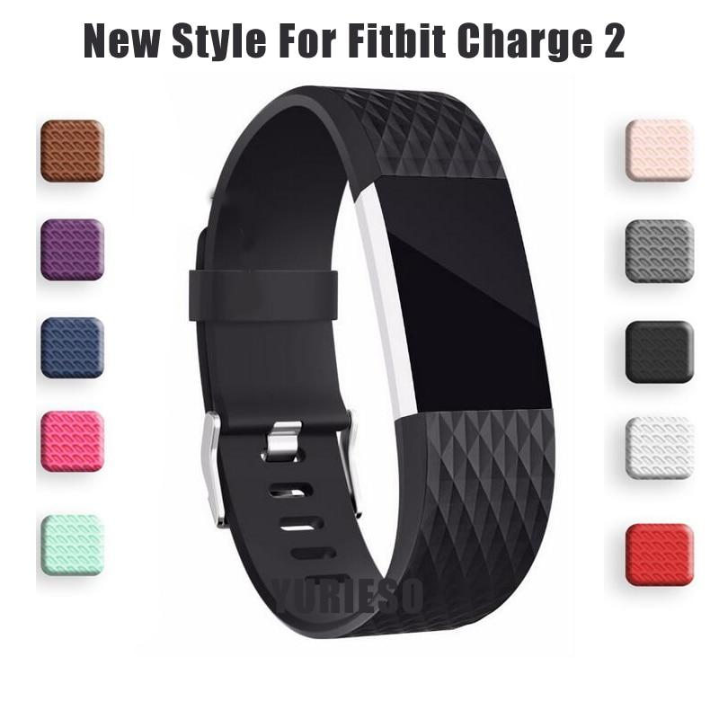 Pasek 3D do Fitbit Charge 2 Band inteligentne akcesoria do Fitbit Charge 2 inteligentna opaska na rękę wymiana paska oryginalnego paska