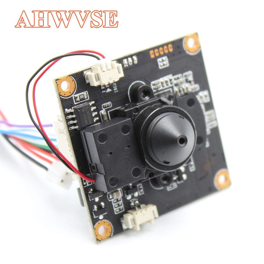 Mini DIY POE IP Camera module Board with IRCUT 1080P 2MP ONVIF H264 Mobile Serveillance XMEYE 3.7mm Lens ONVIF