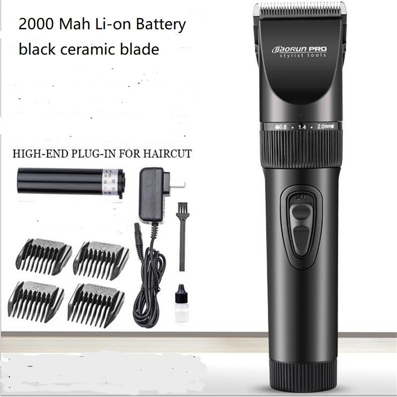 المهنية الكهربائية رجل أداة تهذيب اللحية ماكينة حلاقة الدقة 0.8 مللي متر حلاقة آلة الرجال الجسم التهيأ مزيل الشعر شارب المقص