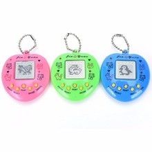 Hot selling 1pc electronic pet game machine Tamagochi 168 pet in 1 Learning Education toys For child