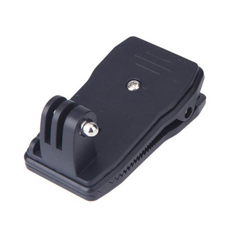 Sombrero de mochila Rec-clip de monturas MONTAJE DE Abrazadera de liberación rápida rotación de 360 grados para Gopro Hero 7/6/5/4/3/3 +/2/1
