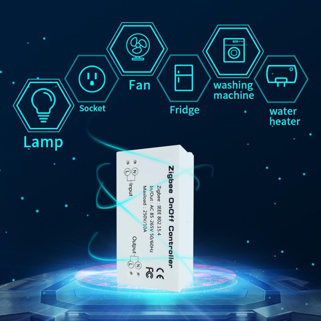 New Remote Control Smart Switch Timing Energy Saving Compatible with Smart Things Hub Wink Hub Zigbee HA Hub