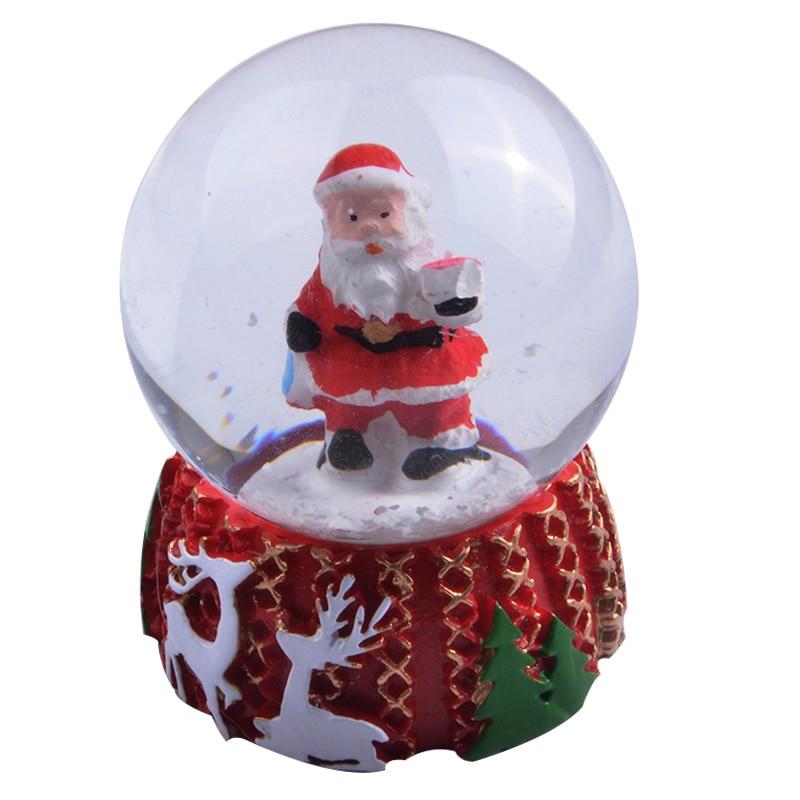 الراتنج الديكور الساخن بيع الجملة الراتنج الحرف رخيصة مخصص الراتنج عيد الميلاد الديكور السعر المنخفض الثلوج الكريستال الكرة
