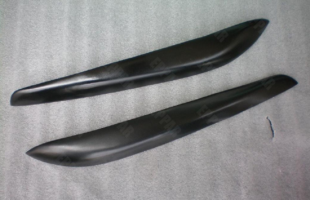 Неокрашенные стекловолокно веки брови для 1999-2004 Nissan Skyline R34 GTR GTT