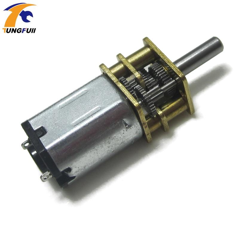 Tungfull 10 pçs dc motor 3 v engrenagem redutor caixa de engrenagens elétrica com engrenagem para controle remoto robô diy pequeno motor de brinquedo elétrico