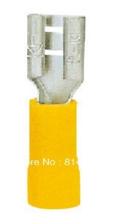 الإناث قبل العازلة المشتركة FDD5.5-187 الأصفر 500 قطع