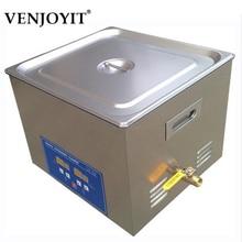 Expédition rapide de machine de décapant ultrasonique numérique inoxydable de 15L