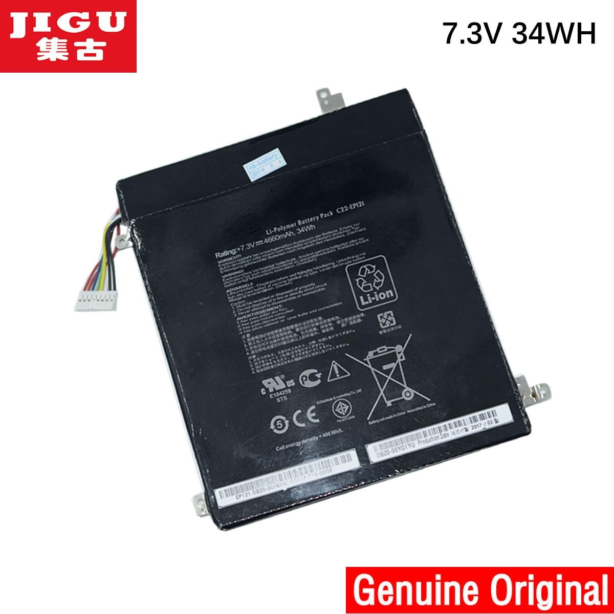 Batería Original para ordenador portátil JIGU C22-EP121 para ASUS para Eee Pad B121 tableta Serie PC pizarra EP121 B121-A1 EP121