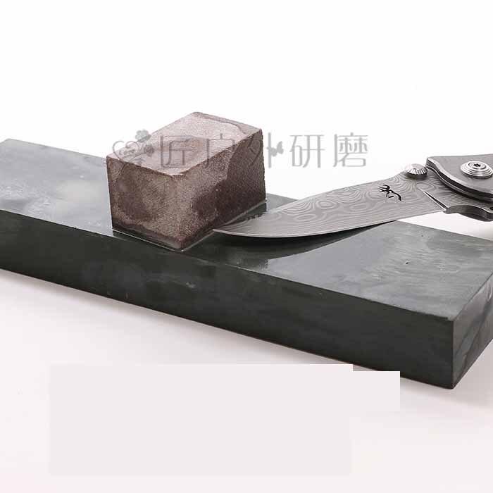 Natural 5000 malha faca de afiar pedra do óleo cozinha do agregado familiar faca pedicure borda moagem fina pedra amolar