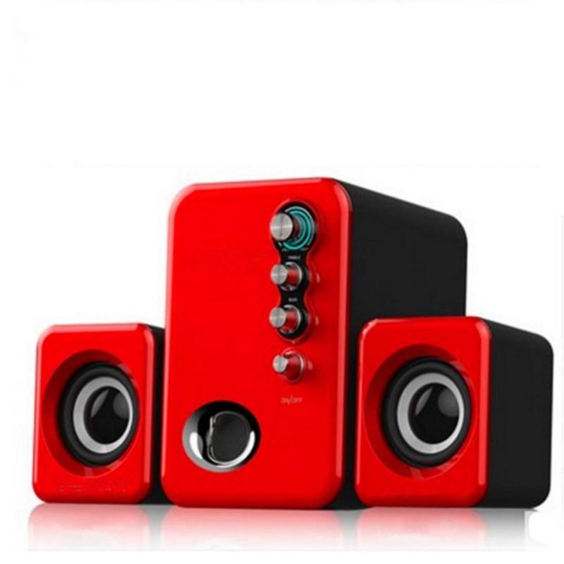 Multimedia activo USB 2,1 Audio estéreo de Altavoces de Ordenador portátil Mini...