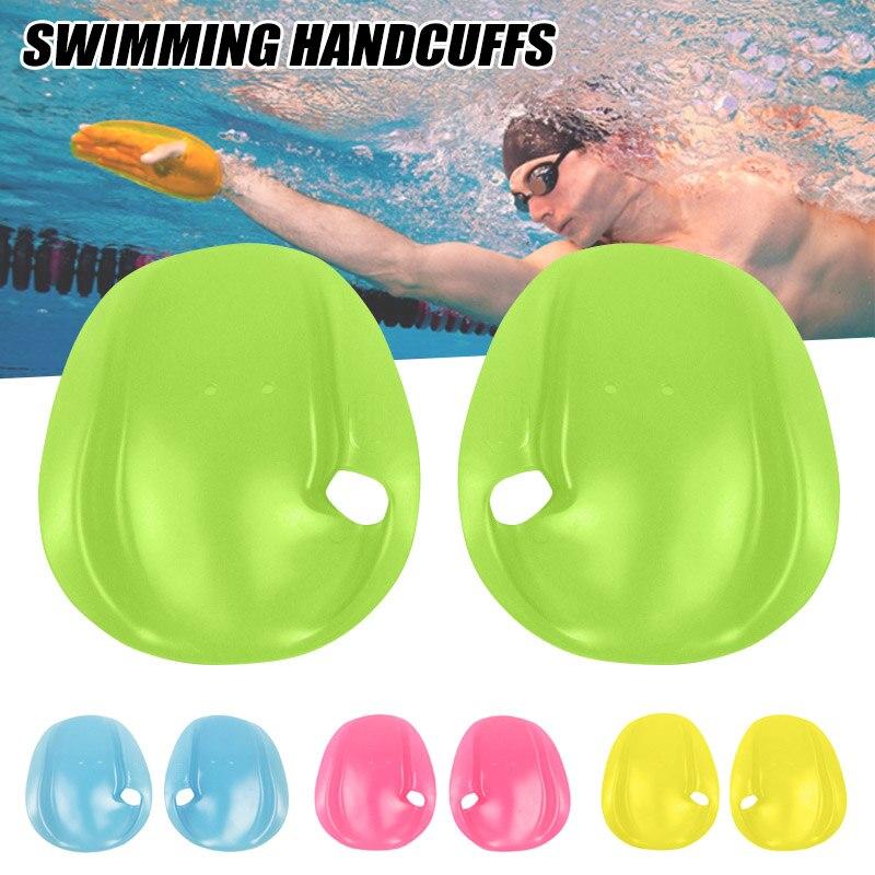 1 par mão pás nadar webbed luvas de mergulho para treinamento natação mergulho whshopping